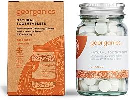 Parfums et Produits cosmétiques Comprimés de nettoyage des dents, Orange - Georganics Natural Toothtablets Orange