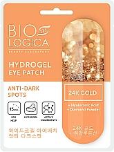Parfums et Produits cosmétiques Patchs anti-cernes à l'acide hyaluronique contour des yeux - Biologica Gold