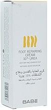 Parfums et Produits cosmétiques Crème à l'urée 10% pour pieds - Babe Laboratorios Foot Repairing Cream 10 % Urea