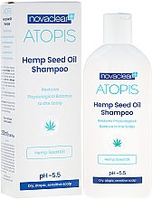 Parfums et Produits cosmétiques Shampooing à l'huile de chanvre - Novaclear Atopis Hemp Seed Oil Shampoo