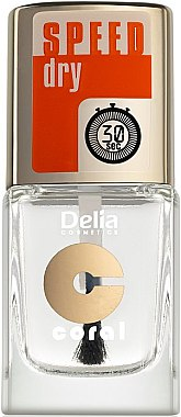 Top coat à séchage rapide - Delia Speed Dry Top Coat