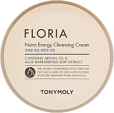 Parfums et Produits cosmétiques Crème nettoyante pour visage - Tony Moly Floria Nutra-Energy Cleansing Cream
