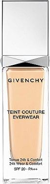 Fond de teint tenue 24H - Givenchy Teint Couture Everwear SPF20/PA++