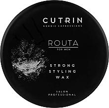 Parfums et Produits cosmétiques Cire coiffante - Cutrin Routa Strong Styling Wax