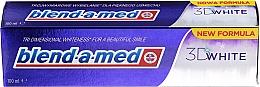 Parfums et Produits cosmétiques Dentifrice - Blend-a-med 3D White Toothpaste