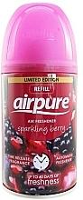 Parfums et Produits cosmétiques Recharge aérosol pour diffuseur de parfum automatique, Baie pétillante - Airpure Air-O-Matic Refill Sparkling Berry