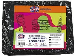 Parfums et Produits cosmétiques Cape longue de coiffure professionnelle, noir - Ronney Professional Hairdressing Long Cape