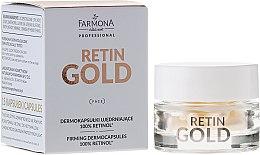 Parfums et Produits cosmétiques Dermocapsules 100% rétinol pour visage - Farmona Professional Retin Gold Firming Dermocapsules 100% Retinol