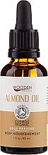 Parfums et Produits cosmétiques Huile d'amande, pressée à froid - Wooden Spoon Almond Oil