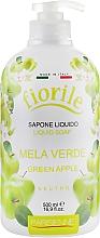 Parfums et Produits cosmétiques Savon liquide pour mains et corps, Pomme verte - Parisienne Italia Fiorile Green Apple Liquid Soap