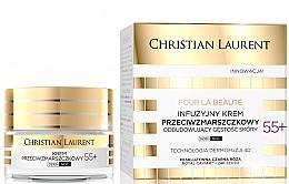 Parfums et Produits cosmétiques Crème anti-rides pour visage 55+ - Christian Laurent Pour La Beaute