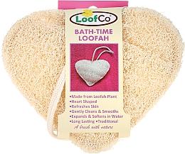 Eponge de bain bio, Coeur - LoofCo Body Loofah — Photo N1
