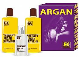 Parfums et Produits cosmétiques Brazil Keratin Therapy Argan - Set (shampooing/300ml + après-shampooing/300ml + huile/100ml)