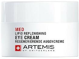 Parfums et Produits cosmétiques Crème au beurre de karité contour des yeux - Artemis of Switzerland Med Lipid Replenishing Eye Cream
