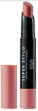 Parfums et Produits cosmétiques Rouge à lèvres - MUA Academy Super Stylo Satin Finish Lipstick