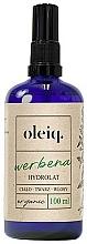 Parfums et Produits cosmétiques Hydrolat de verveine pour visage, corps et cheveux - Oleiq Verbena Hydrolat