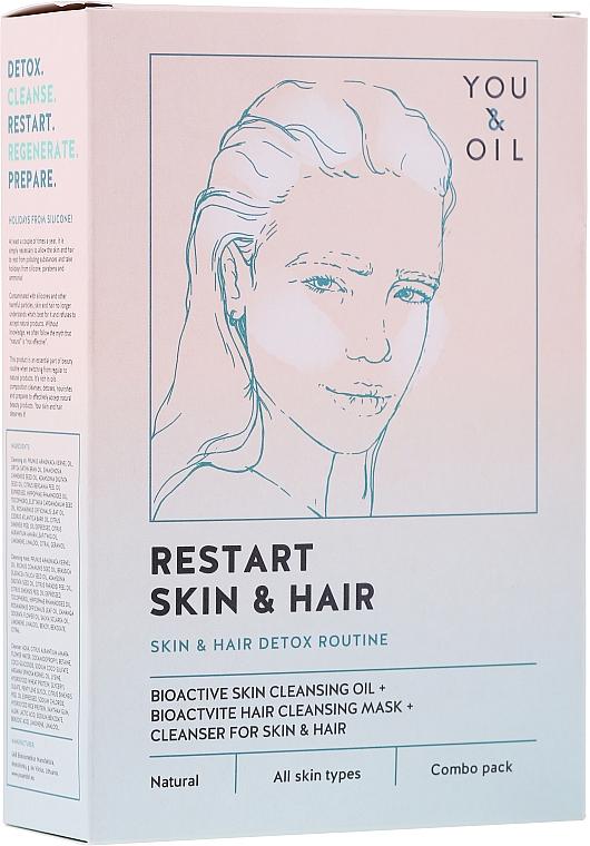 Traitement pour visage et cheveux - Restart Skin & Hair. 3 in 1 Bundle — Photo N1