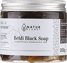 Parfums et Produits cosmétiques Savon noir marocain Beldi - Natur Planet Moroccan Beldi Black Soap