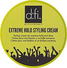 Parfums et Produits cosmétiques Crème coiffante brillance et fixation extrême - D:fi Extreme Hold Styling Cream