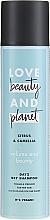 Parfums et Produits cosmétiques Shampooing sec au thé vert - Love Beauty And Planet Citrus & Camellia Dry Shampoo