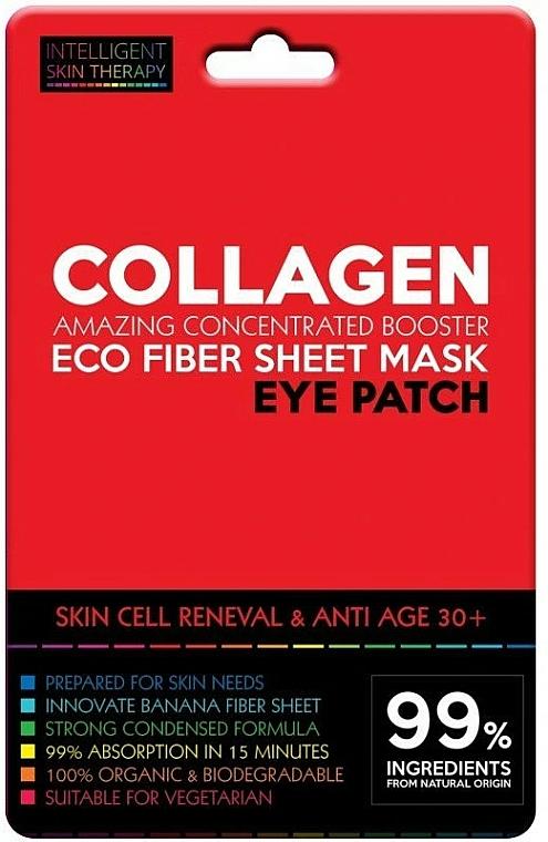 Patchs au collagène contour des yeux - Beauty Face IST Cell Rebuilding Eye Patch Marine Collagen
