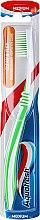 Brosse à dents, médium, vert clair - Aquafresh Clean & Flex — Photo N2