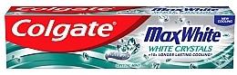 Parfums et Produits cosmétiques Dentifrice blanchissant - Colgate Max White White Crystals
