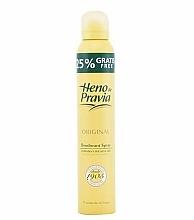 Parfums et Produits cosmétiques Heno de Pravia Original - Déodorant spray