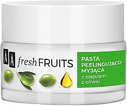 Parfums et Produits cosmétiques Pâte exfoliante à l'huile d'olive pour visage - AA Fresh Fruits Healthy Glow