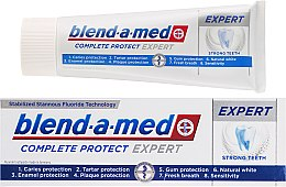 Parfums et Produits cosmétiques Dentifrice - Blend-a-med Oral-B Complete Protect Expert Strong Teeth Toothpaste