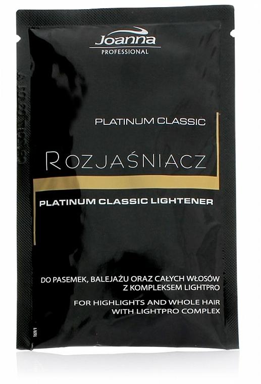 Poudre décolorante pour cheveux - Joanna Professional Platinum Classic Lightener