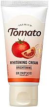 Parfums et Produits cosmétiques Crème à l'extrait de tomate pour visage - Skinfood Premium Tomato Whitening Cream