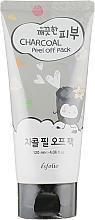 Parfums et Produits cosmétiques Masque peel-off au charbon et extrait de riz pour visage - Esfolio Pure Skin Charcoal Peel Off Pack