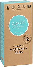 Parfums et Produits cosmétiques Serviettes hugiéniques post-patrum - Ginger Organic