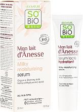 Parfums et Produits cosmétiques Sérum au lait d'ânesse et acide hyaluronique pour visage - So'Bio Etic Deep Moisturizing Serum