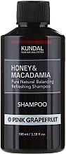 """Parfums et Produits cosmétiques Shampooing naturel équilibrant et rafraîchissant """"Pamplemousse rose"""" - Kundal Honey & Macadamia Pink Grapefruit Shampoo"""