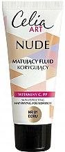 Parfums et Produits cosmétiques Fond de teint - Celia Nude Mattifying Foundation