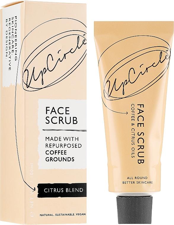 Gommage à la poudre de graines de café et huiles d'agrumes pour visage - UpCircle Coffee Face Scrub Citrus Blend
