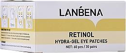 Parfums et Produits cosmétiques Patchs hydrogel au rétinol contour des yeux - Lanbena Retinol Collagen Eye Patch