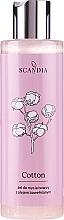 Parfums et Produits cosmétiques Gel nettoyant à l'huile de coton pour visage - Scandia Cosmetics Cotton Gel