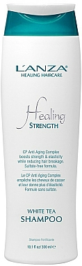 Shampooing au thé blanc pour cheveux longs ou faibles - Lanza Healing Strength White Tea Shampoo — Photo N2