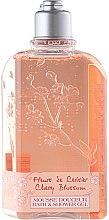 Parfums et Produits cosmétiques Gel bain et douche à l'extrait de cerise - L'Occitane Cherry Blossom Bath & Shower Gel