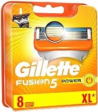 Parfums et Produits cosmétiques Lames de rechange pour rasoir, 8 pcs - Gillette Fusion Power