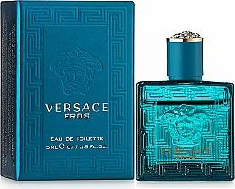 Parfums et Produits cosmétiques Versace Eros - Eau de Toilette (mini)