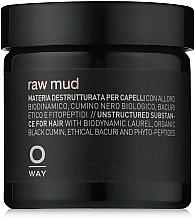 Parfums et Produits cosmétiques Argile coiffante au cumin noir bio - Oway Man Raw Mud