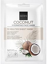 Parfums et Produits cosmétiques Masque tissu à l'extrait de noix de coco pour visage - Gabriella Salvete Coconut Hydrating 15 Minutes Sheet Mask
