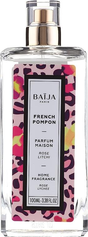 Parfum d'intérieur, Rose et Litchi - Baija French Pompon Home Fragrance — Photo N1