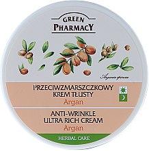 Parfums et Produits cosmétiques Crème de jour et nuit à l'huile d'argan - Green Pharmacy Anti-Wrinkle Ultra Rich Cream