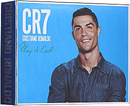 Parfums et Produits cosmétiques Cristiano Ronaldo CR7 Play It Cool - Coffret (eau de toilette/100ml + gel douche/150ml + déodorant spray/150ml)