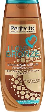 Sérum bronzant et illuminateur pour le corps - Perfecta I Love Bronze Serum